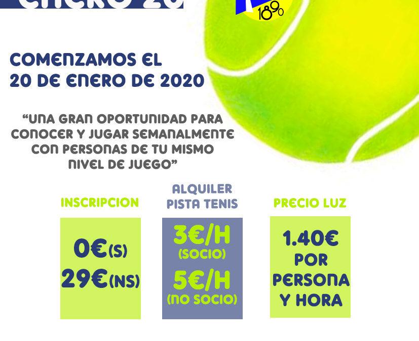 Liga de Tenis 2020
