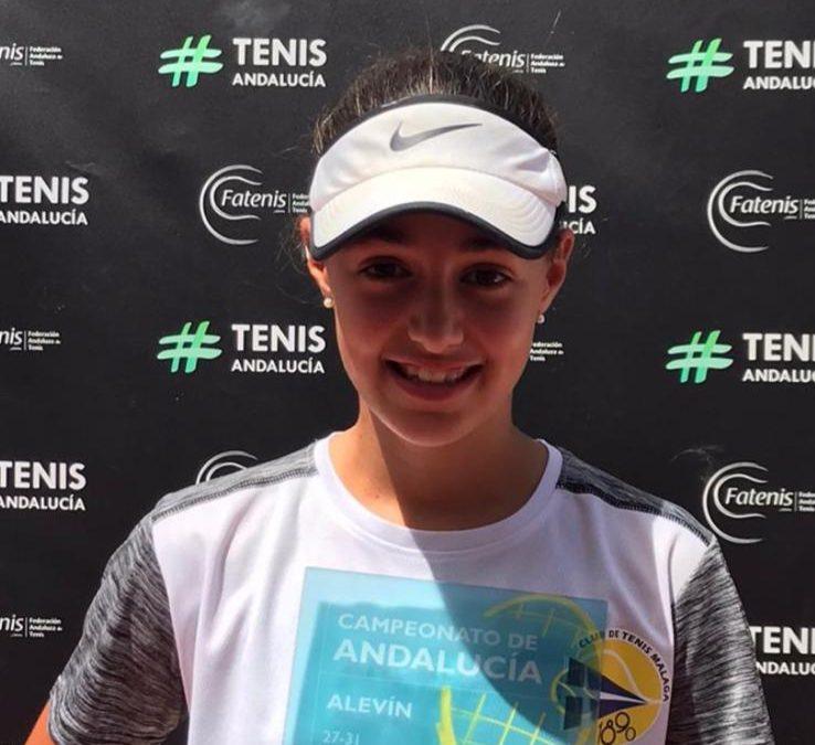 Valentina Carreras Campeona de Andalucía Alevín
